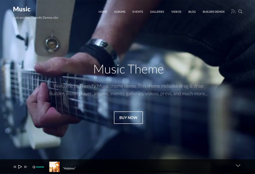 Music Theme Review - Themify | MUST READ