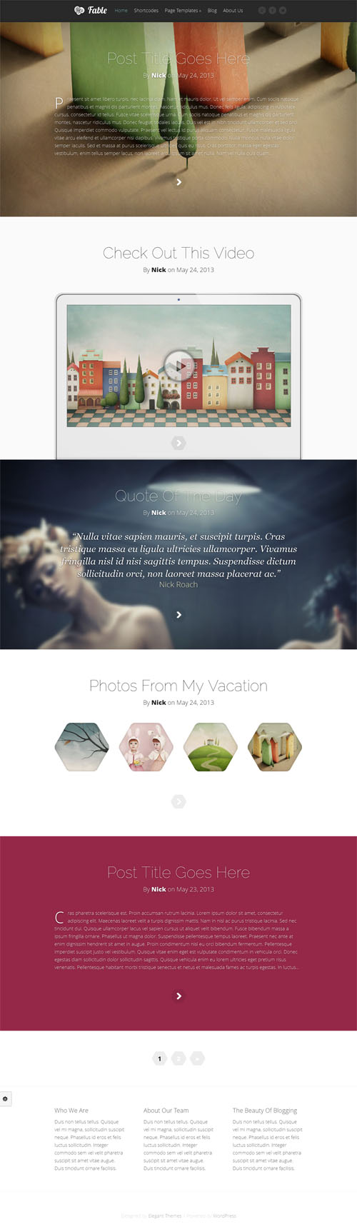 Fable review elegant themes worth for Elegant themes divi review