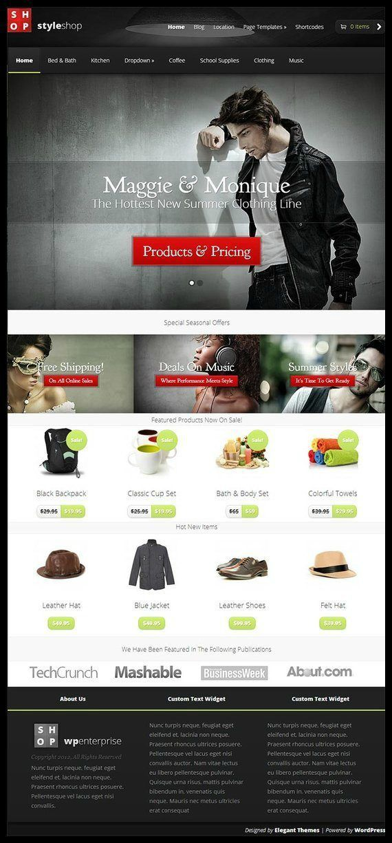 Styleshop review elegant themes must read - Divi theme ecommerce ...