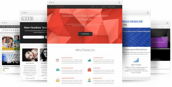 Flat 2.0 Landing Page Templates Thrive Themes