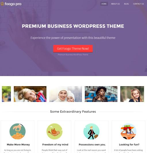 Foogo PRO Theme Review - InkThemes | REALITY