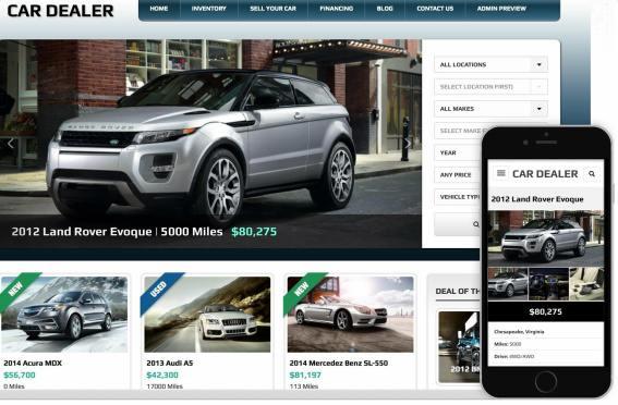Automall Car Dealership WordPress Theme By Gorilla Themes