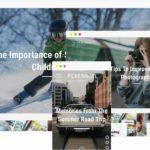 Perennial DesignOrbital Demo - Modern Magazine Blog theme for WordPress