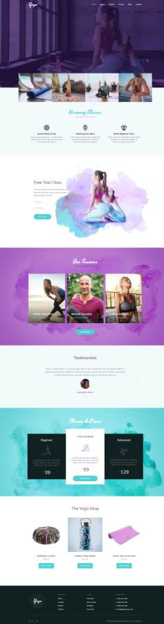 Yoga WordPress Themes For 2017
